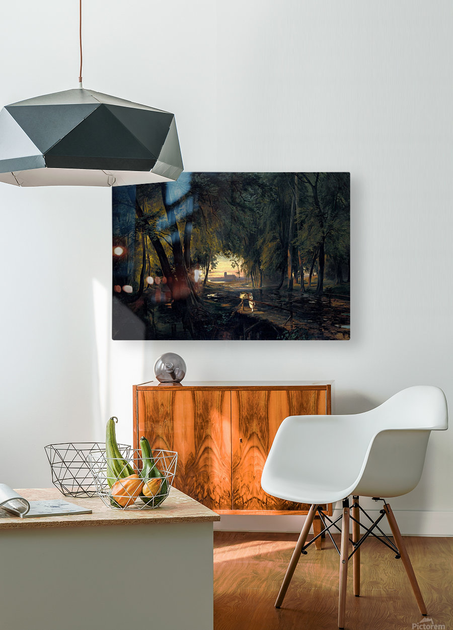 Alchetron  HD Metal print with Floating Frame on Back