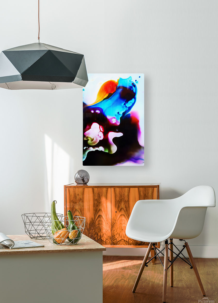 MPS-008  HD Metal print with Floating Frame on Back