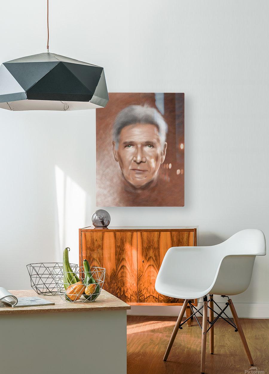 Jonessium V1 - the legend  HD Metal print with Floating Frame on Back