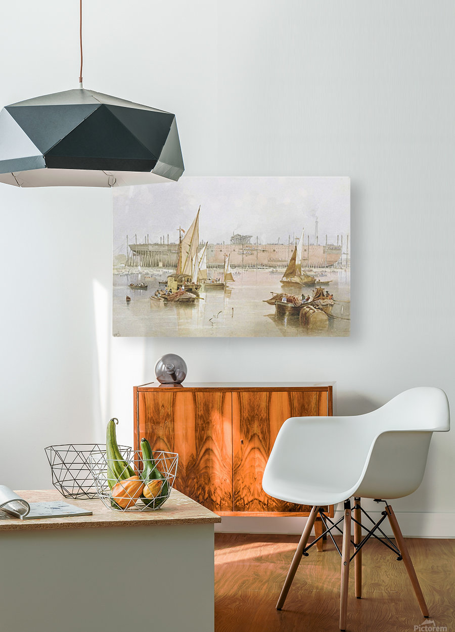 SS 'Great Eastern'  HD Metal print with Floating Frame on Back