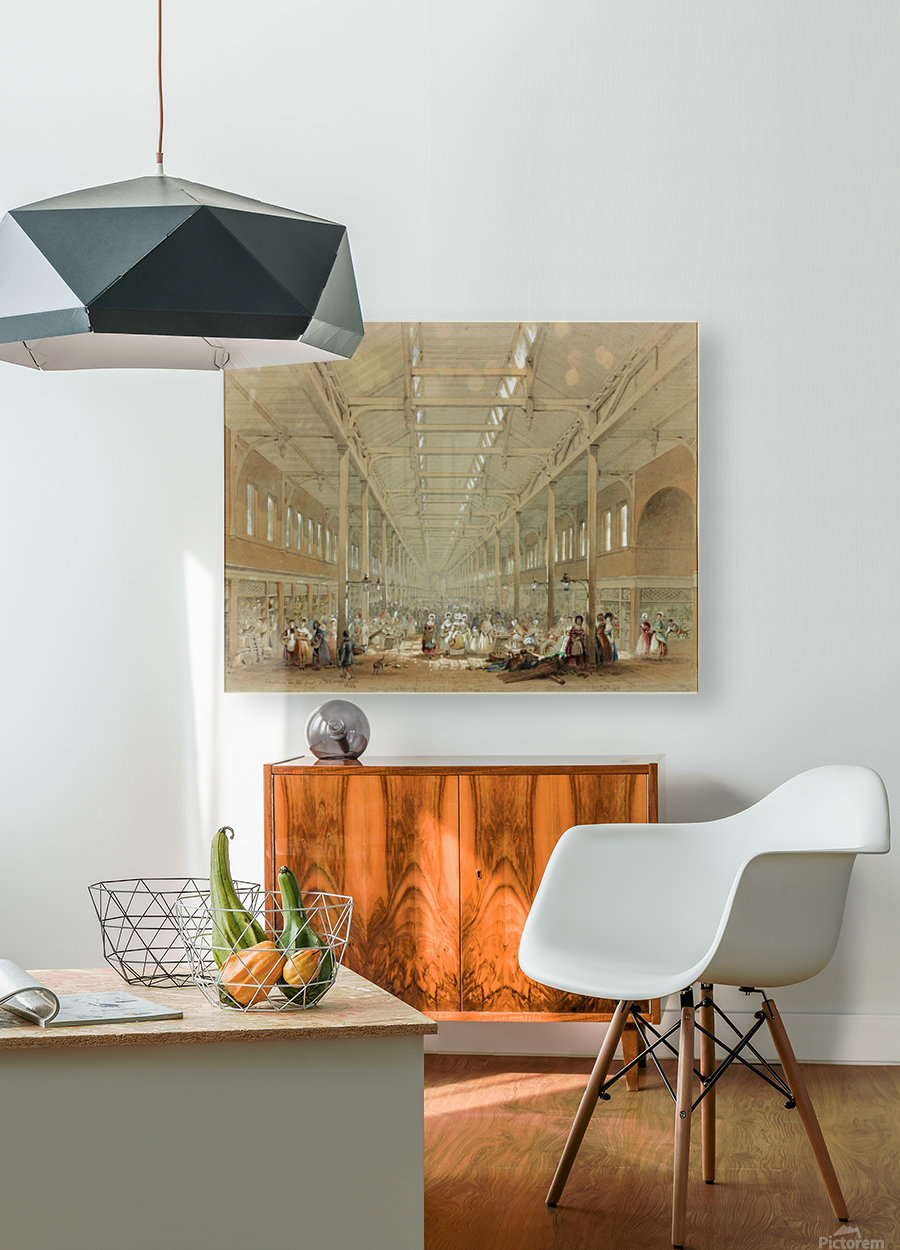 Newcastle great hall  HD Metal print with Floating Frame on Back