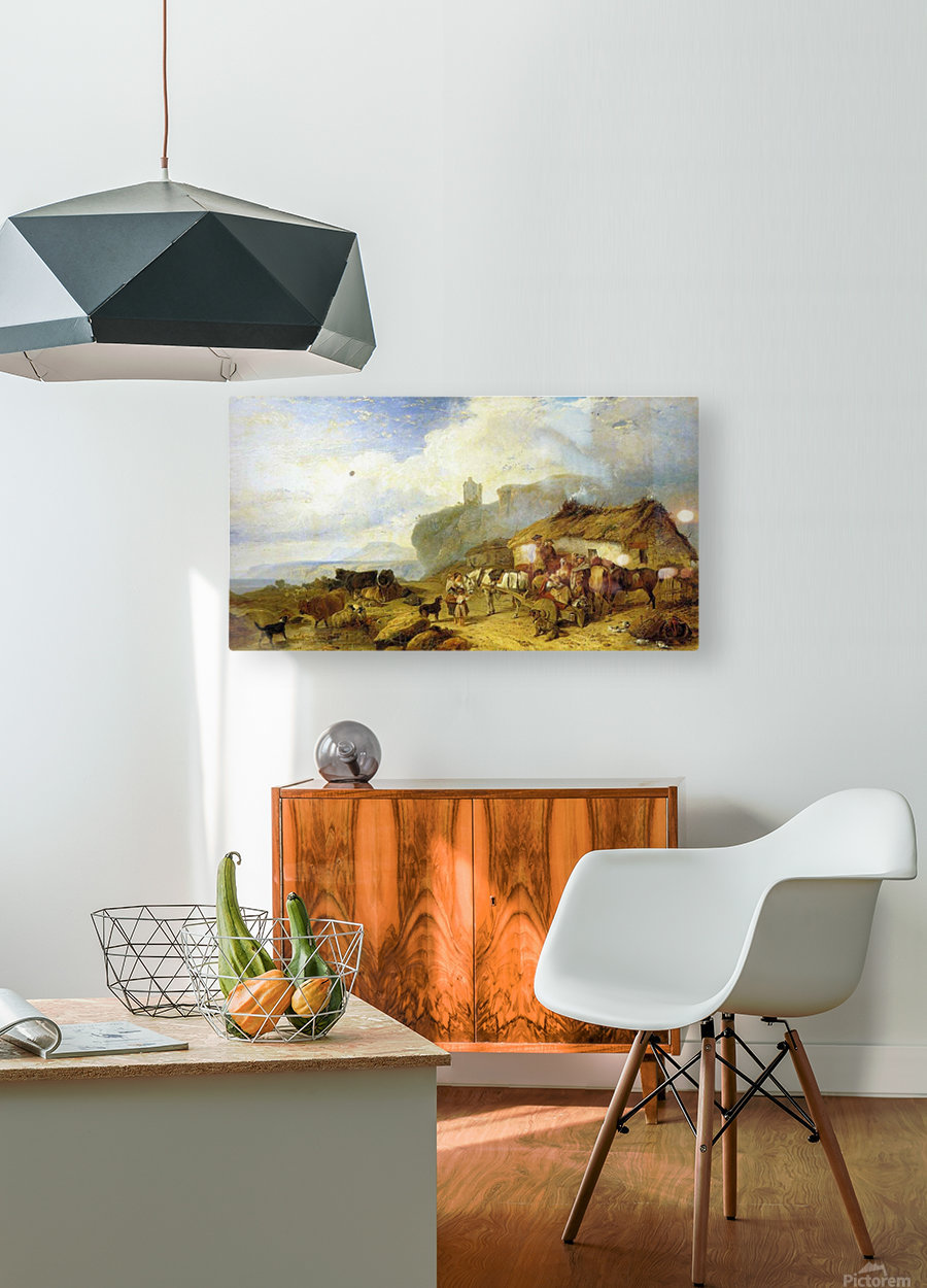 The Drover's Halt, island of Mull  HD Metal print with Floating Frame on Back