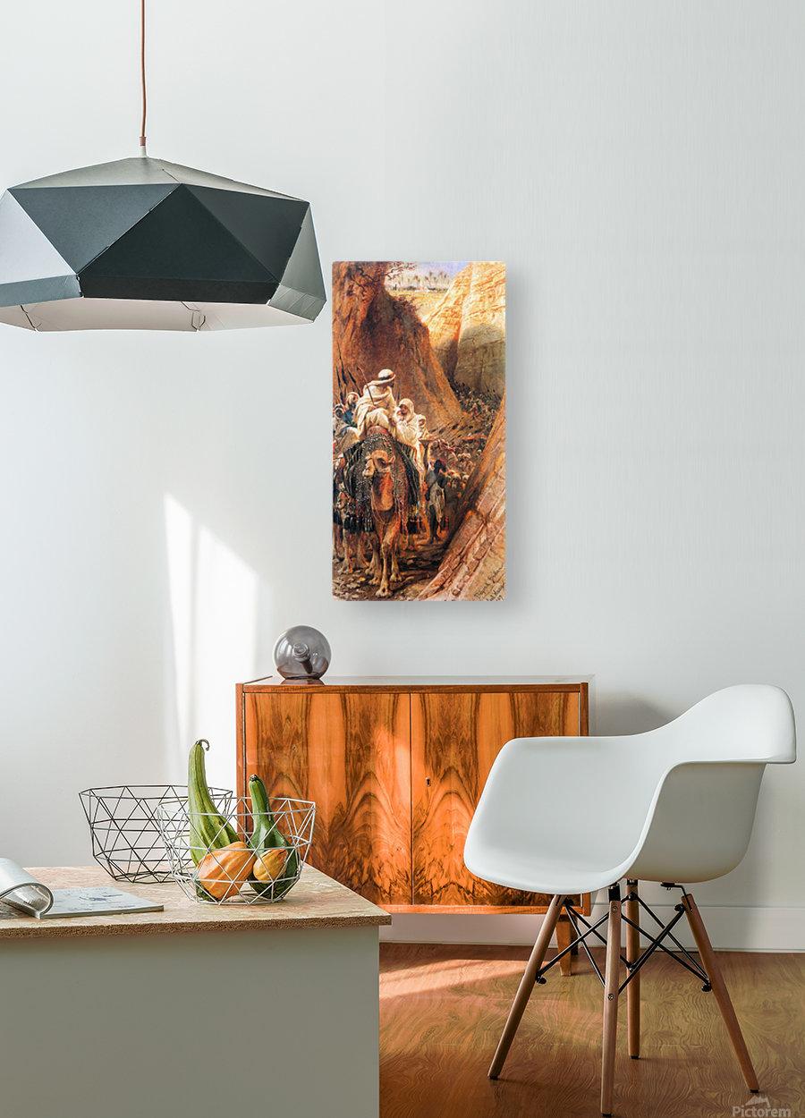 Oryantal Tabolar  HD Metal print with Floating Frame on Back