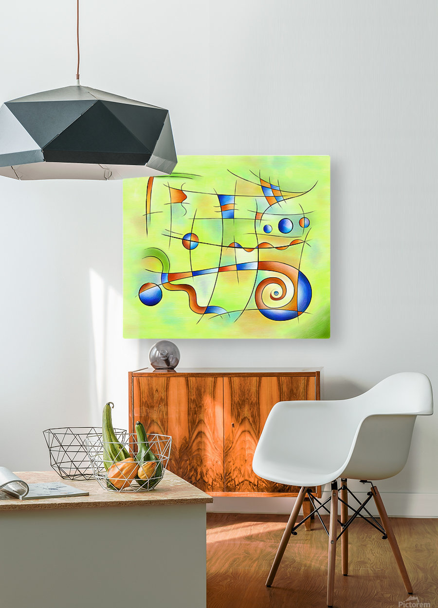 Frenesia - mad world  HD Metal print with Floating Frame on Back