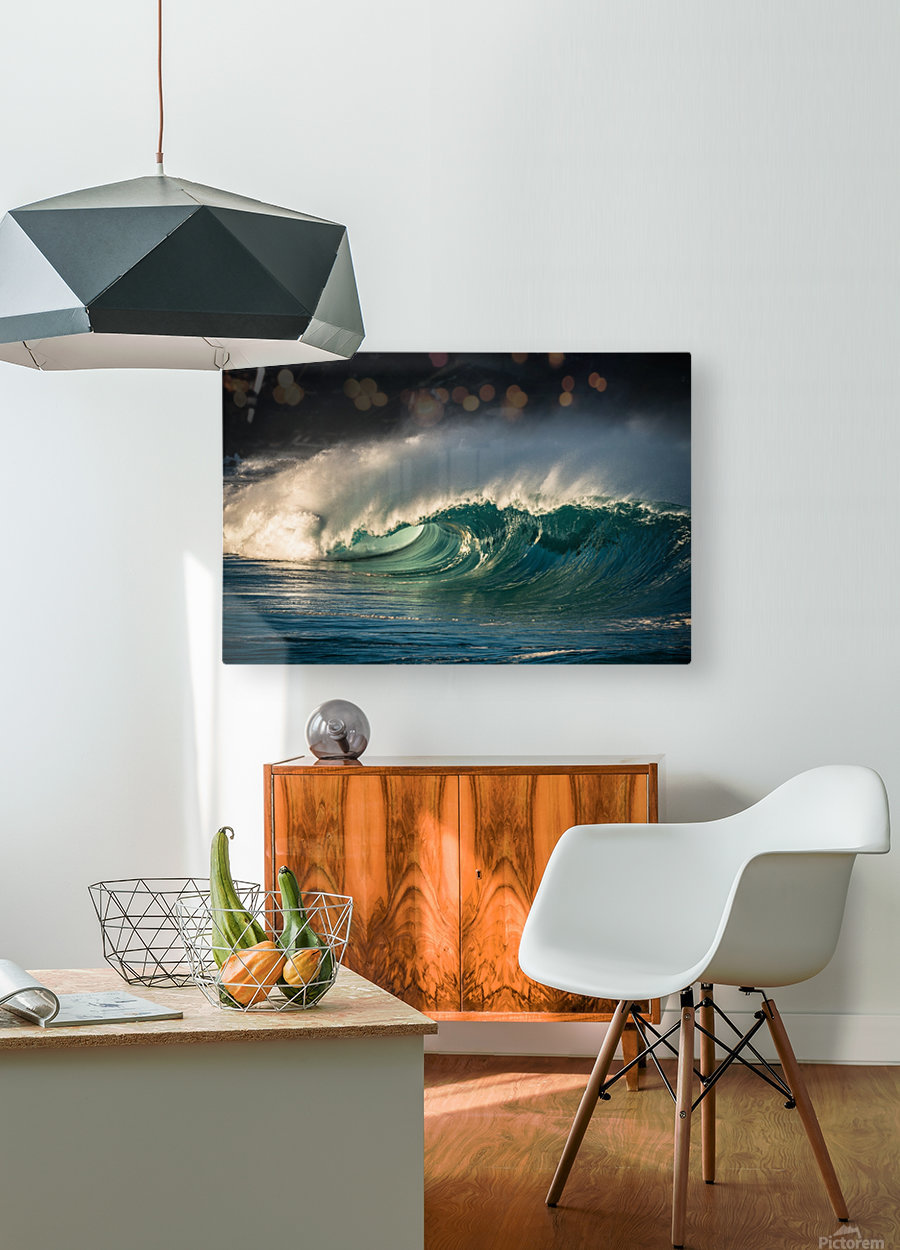 Waimea  HD Metal print with Floating Frame on Back