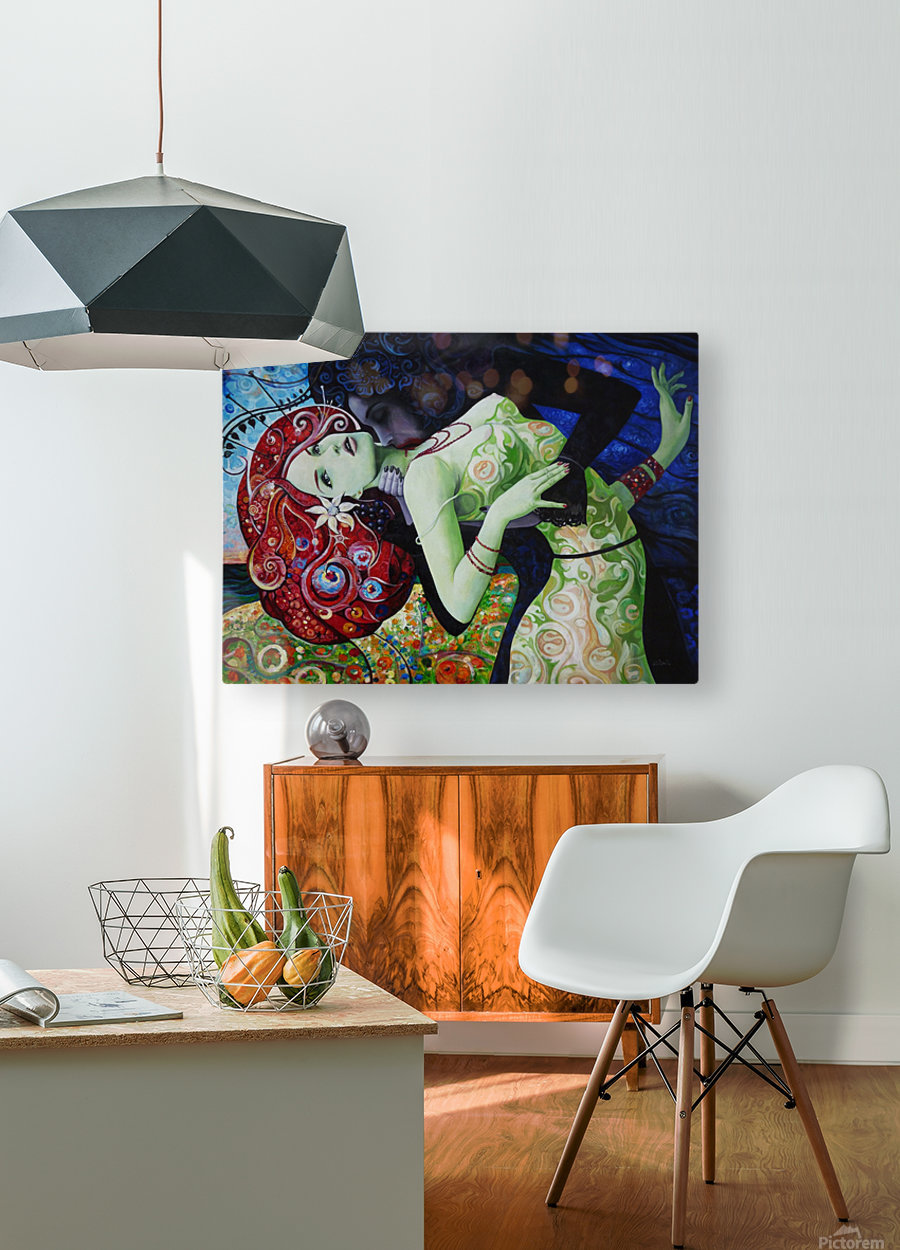 My Summer Wine  HD Metal print with Floating Frame on Back