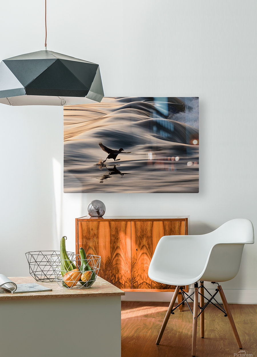 I Believe I Can Walk  HD Metal print with Floating Frame on Back