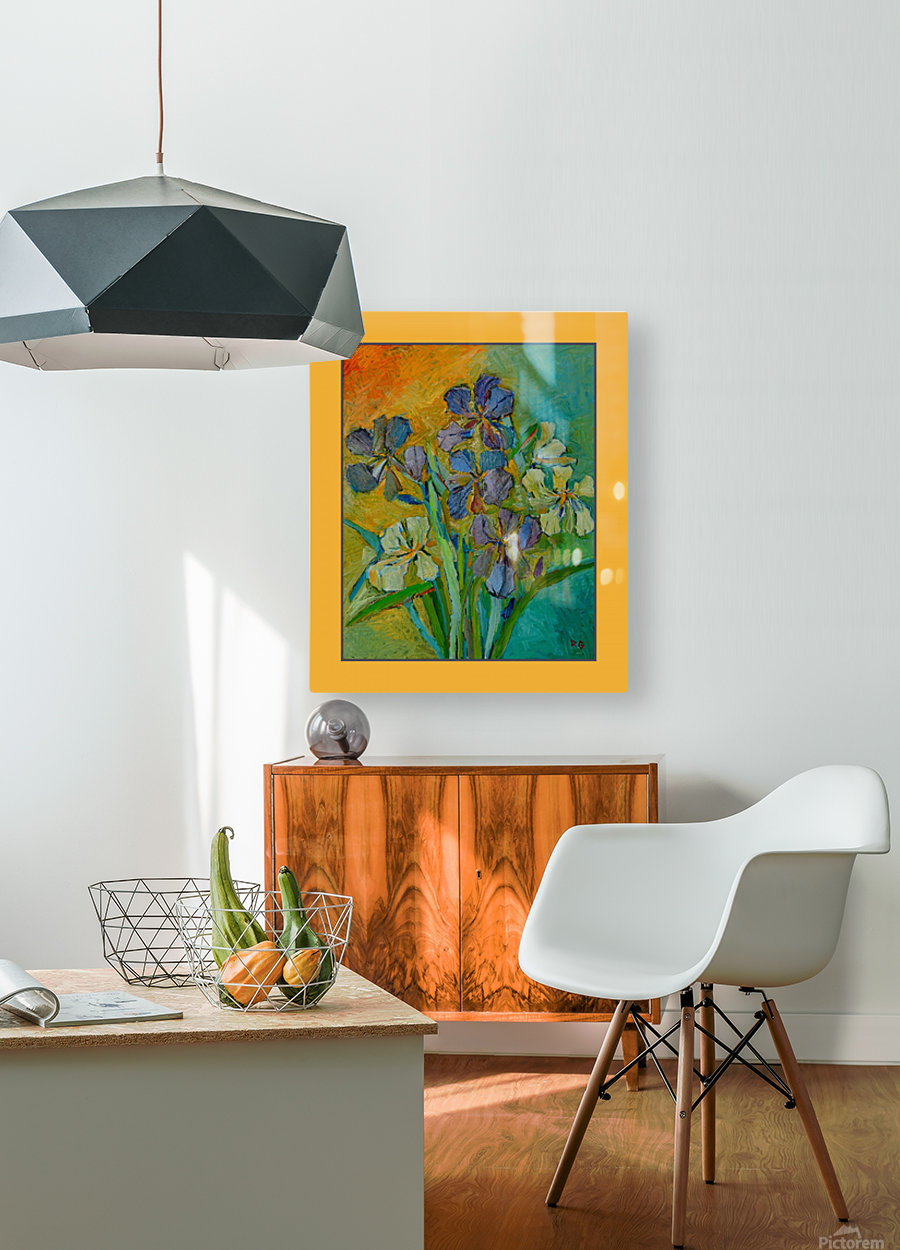 G103.3 4000  HD Metal print with Floating Frame on Back