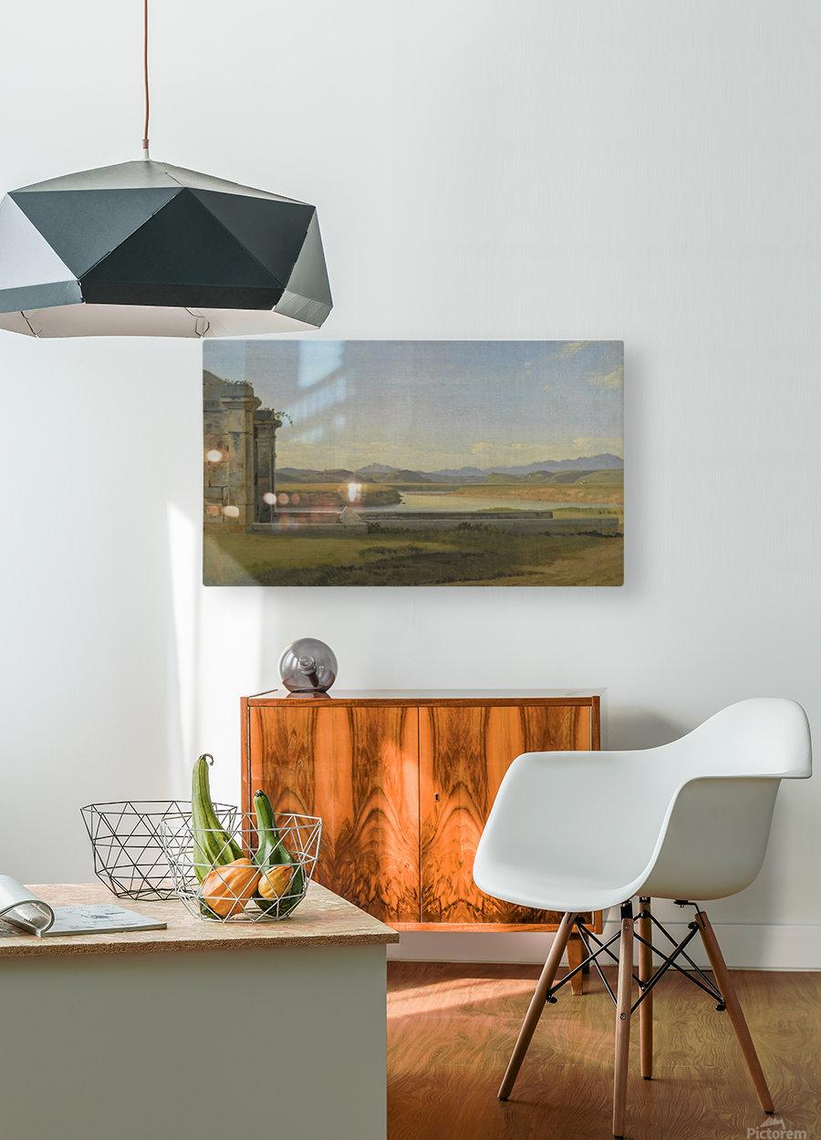 Landscape near Hamburg  HD Metal print with Floating Frame on Back
