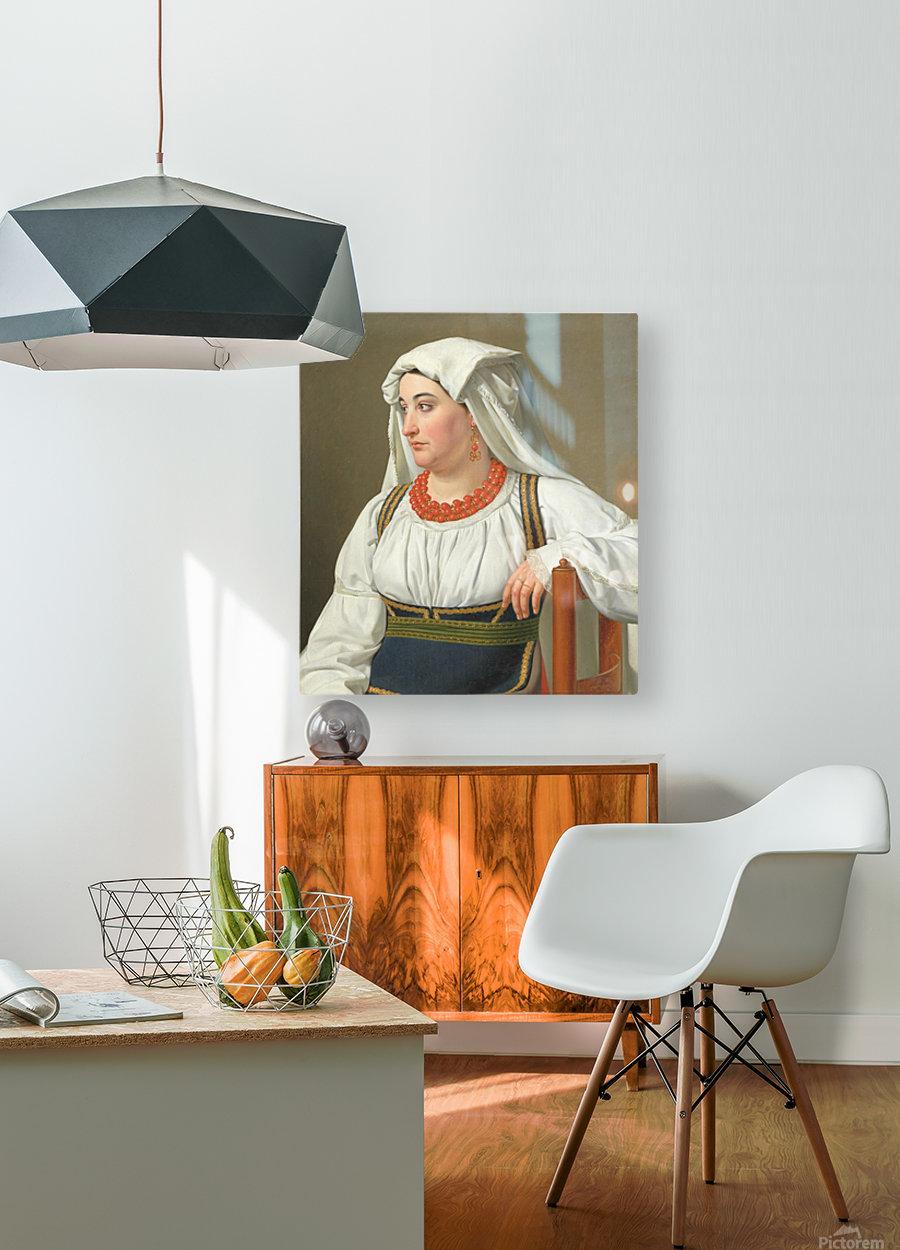 Una Ciociara  HD Metal print with Floating Frame on Back