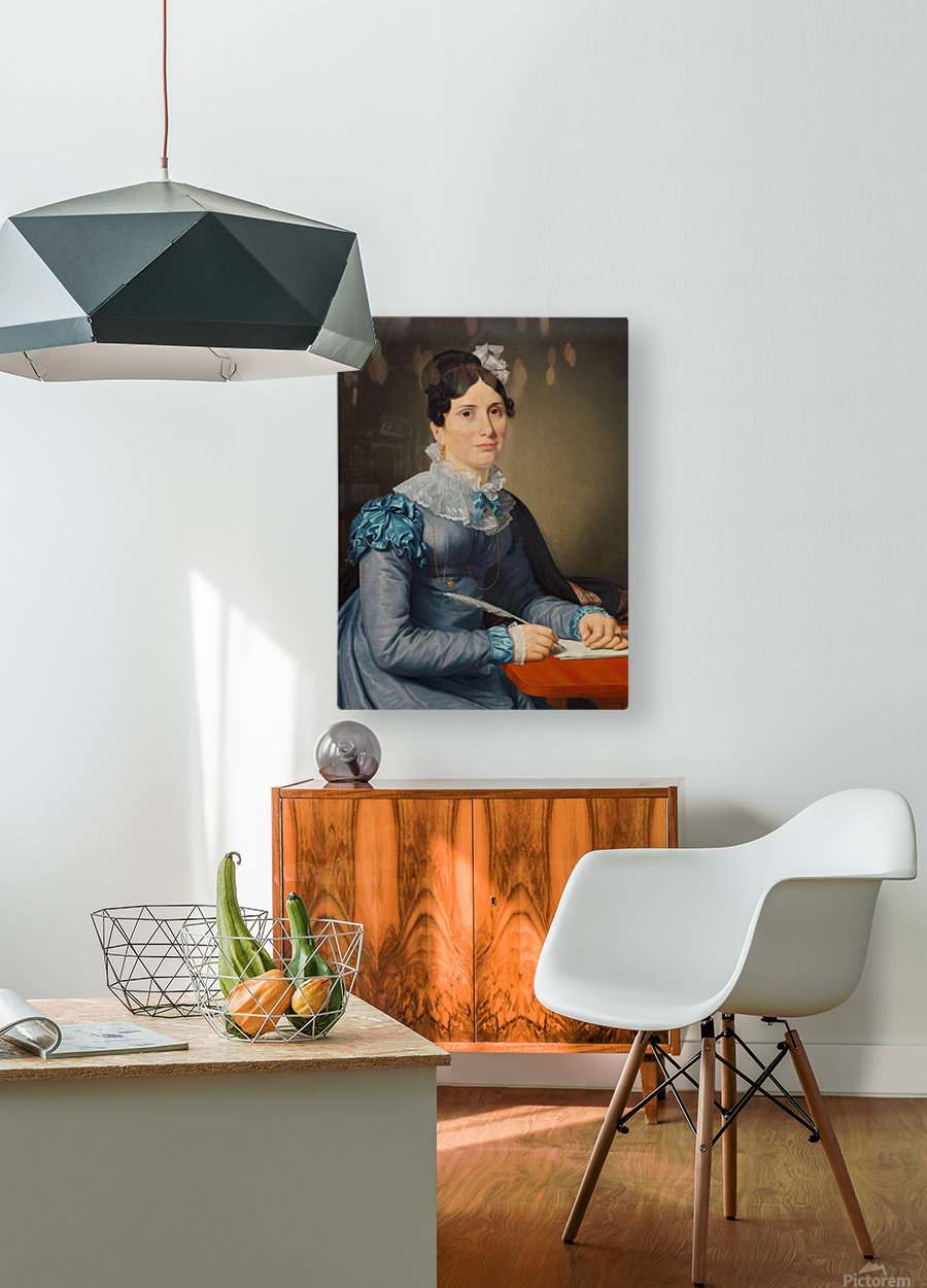 Portrait of Sarah Wolff  HD Metal print with Floating Frame on Back