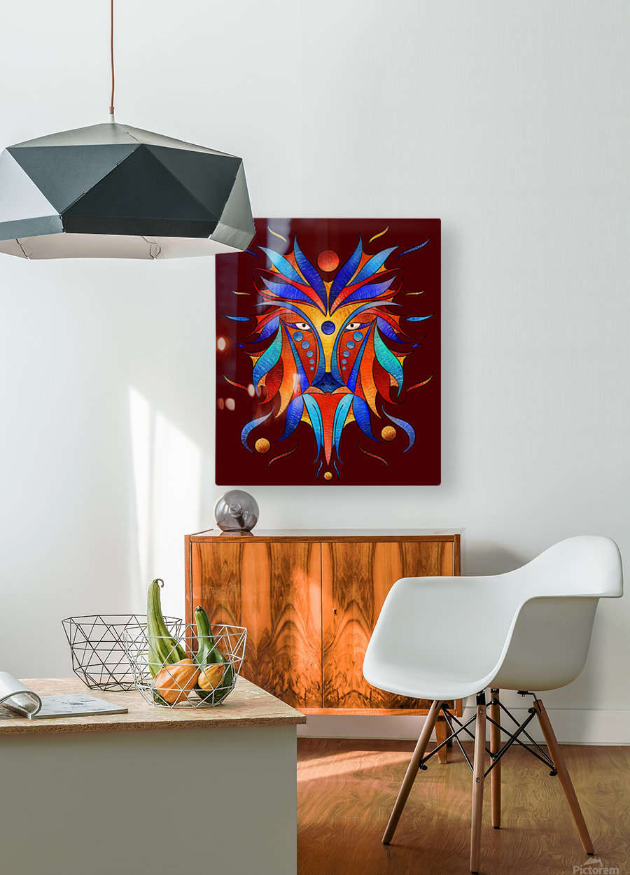 Sanopsilla - the dog  HD Metal print with Floating Frame on Back
