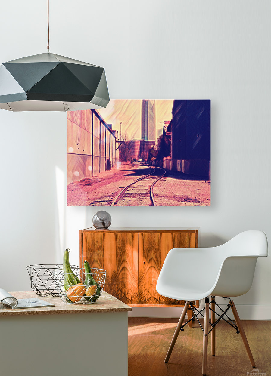 railstojails  HD Metal print with Floating Frame on Back