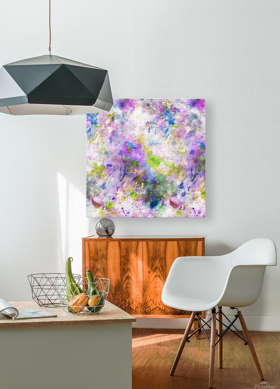 Colour Splash G260  HD Metal print with Floating Frame on Back