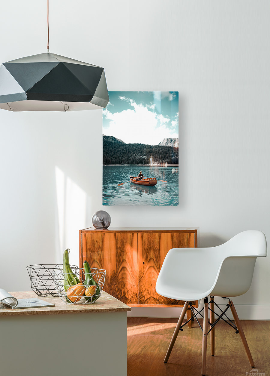 Lonely hour   HD Metal print with Floating Frame on Back