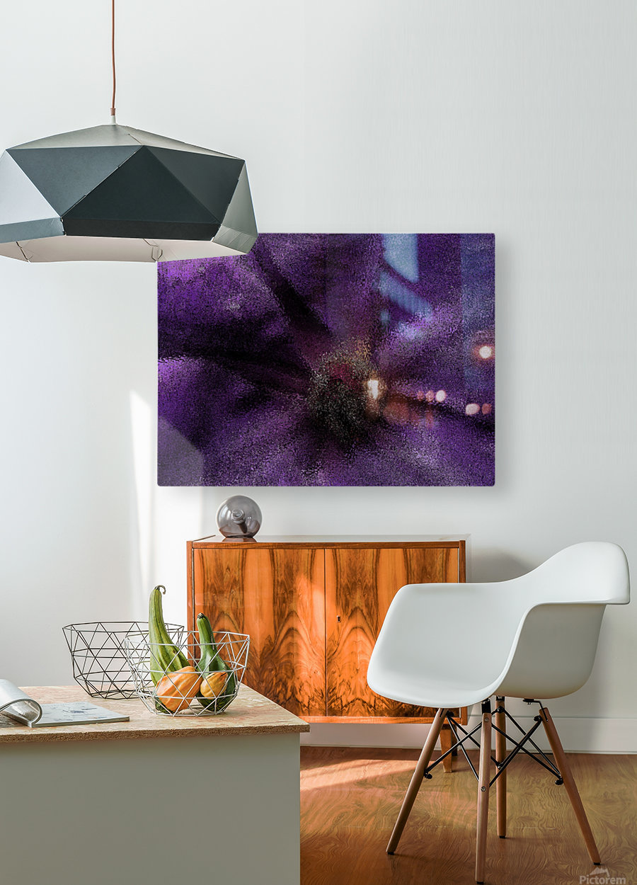 Majesty  HD Metal print with Floating Frame on Back