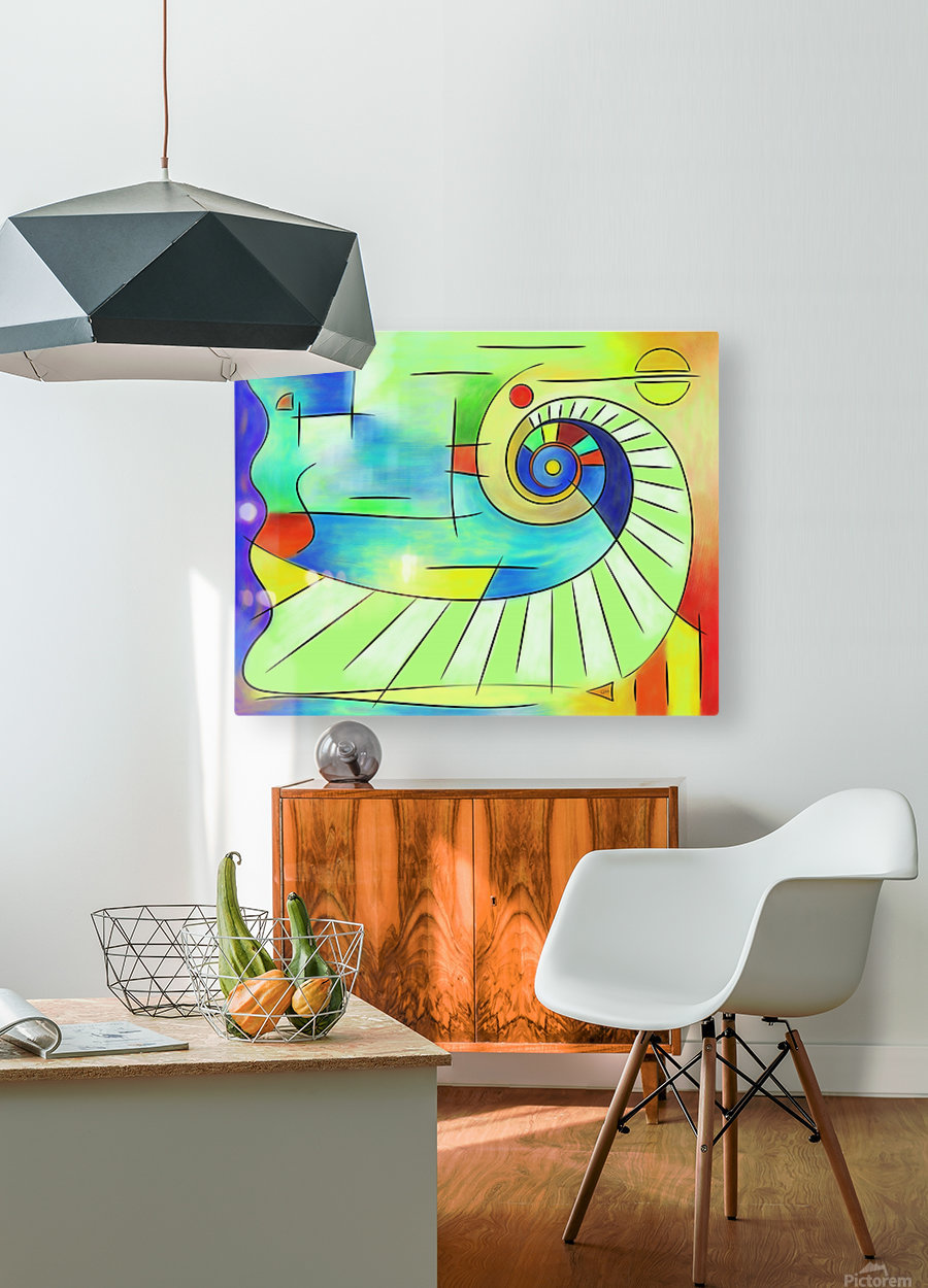 Wainissium - stairway to the sun  HD Metal print with Floating Frame on Back