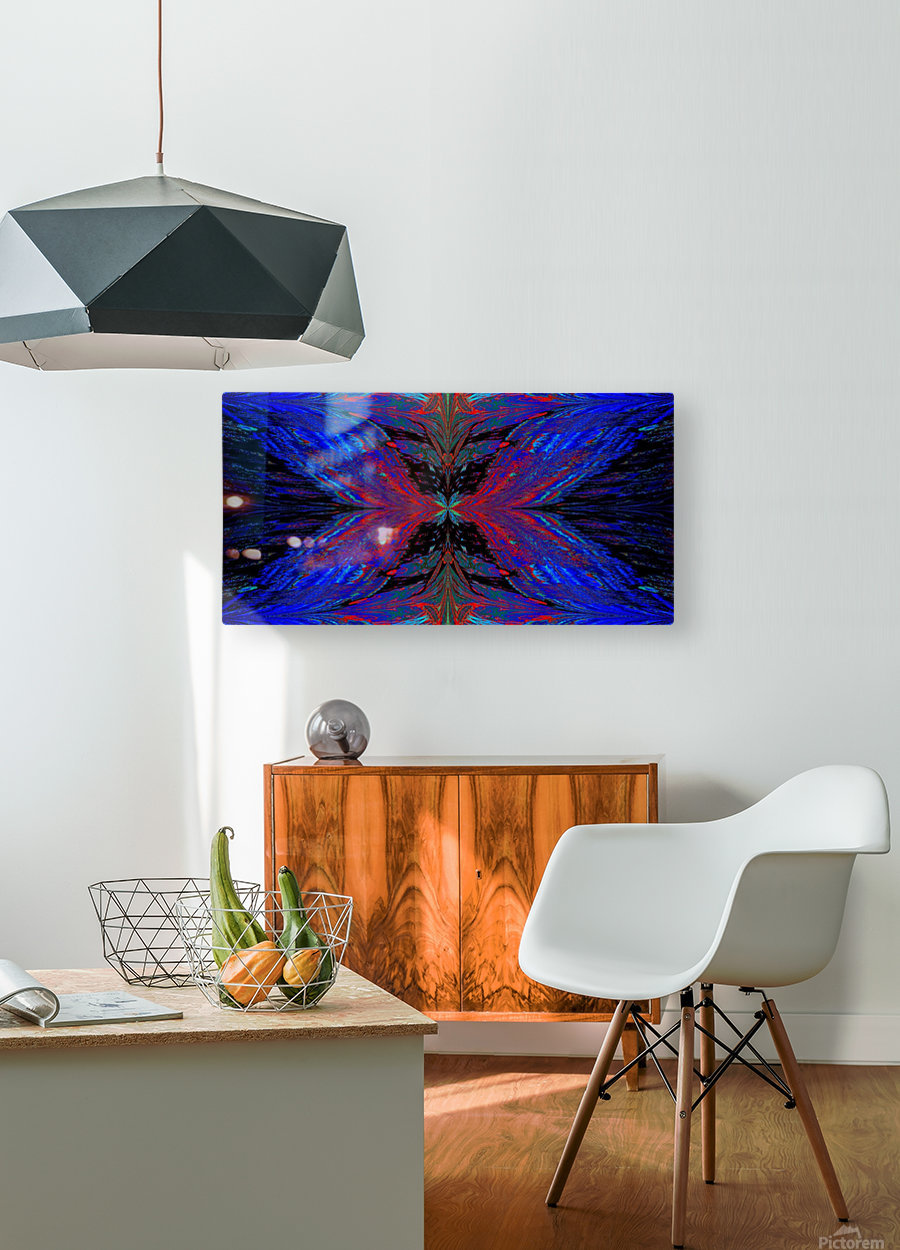 Butterflies For Anastacia 25  HD Metal print with Floating Frame on Back