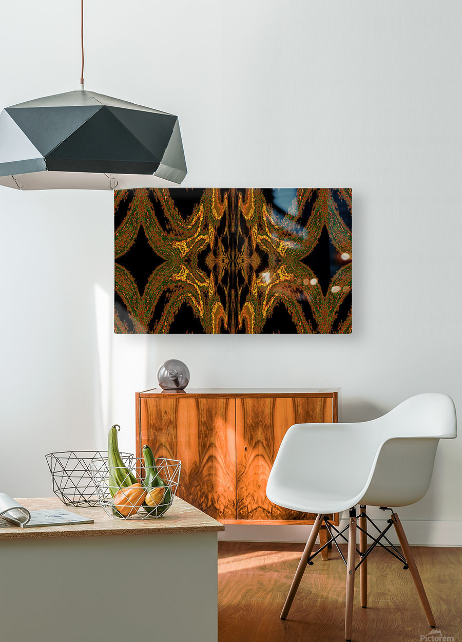 Hidden Butterfly 2  HD Metal print with Floating Frame on Back