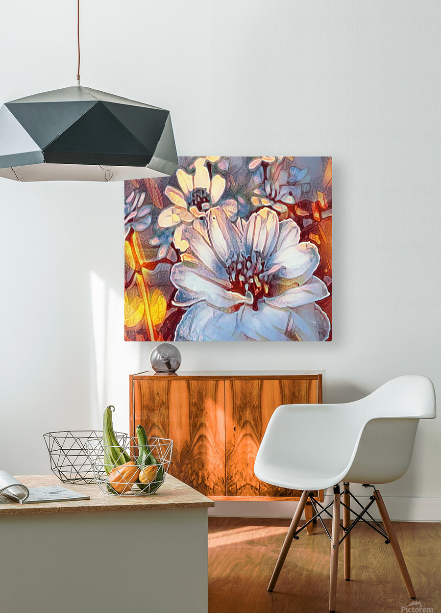 Something Different  HD Metal print with Floating Frame on Back