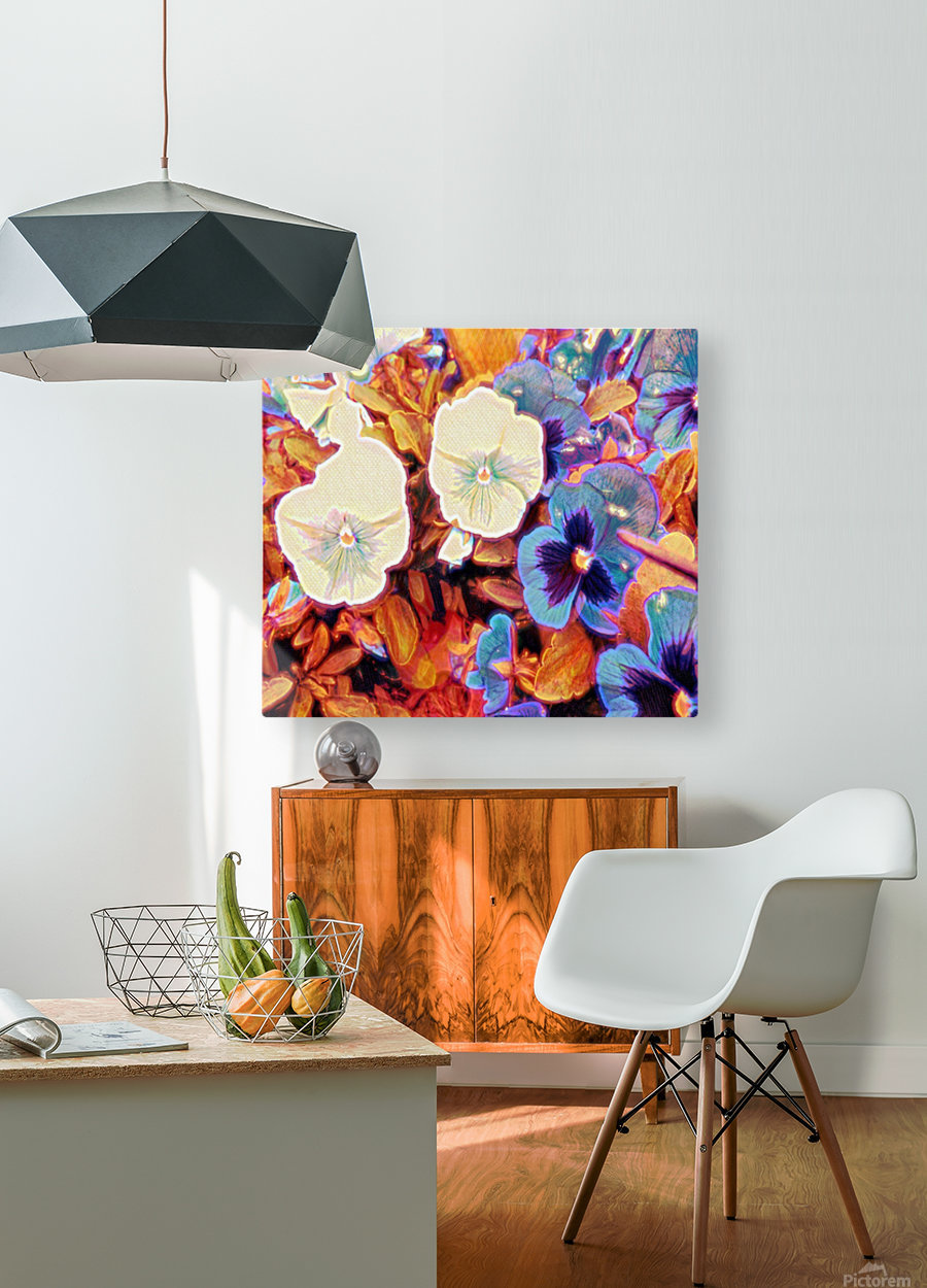 tuesdays  HD Metal print with Floating Frame on Back