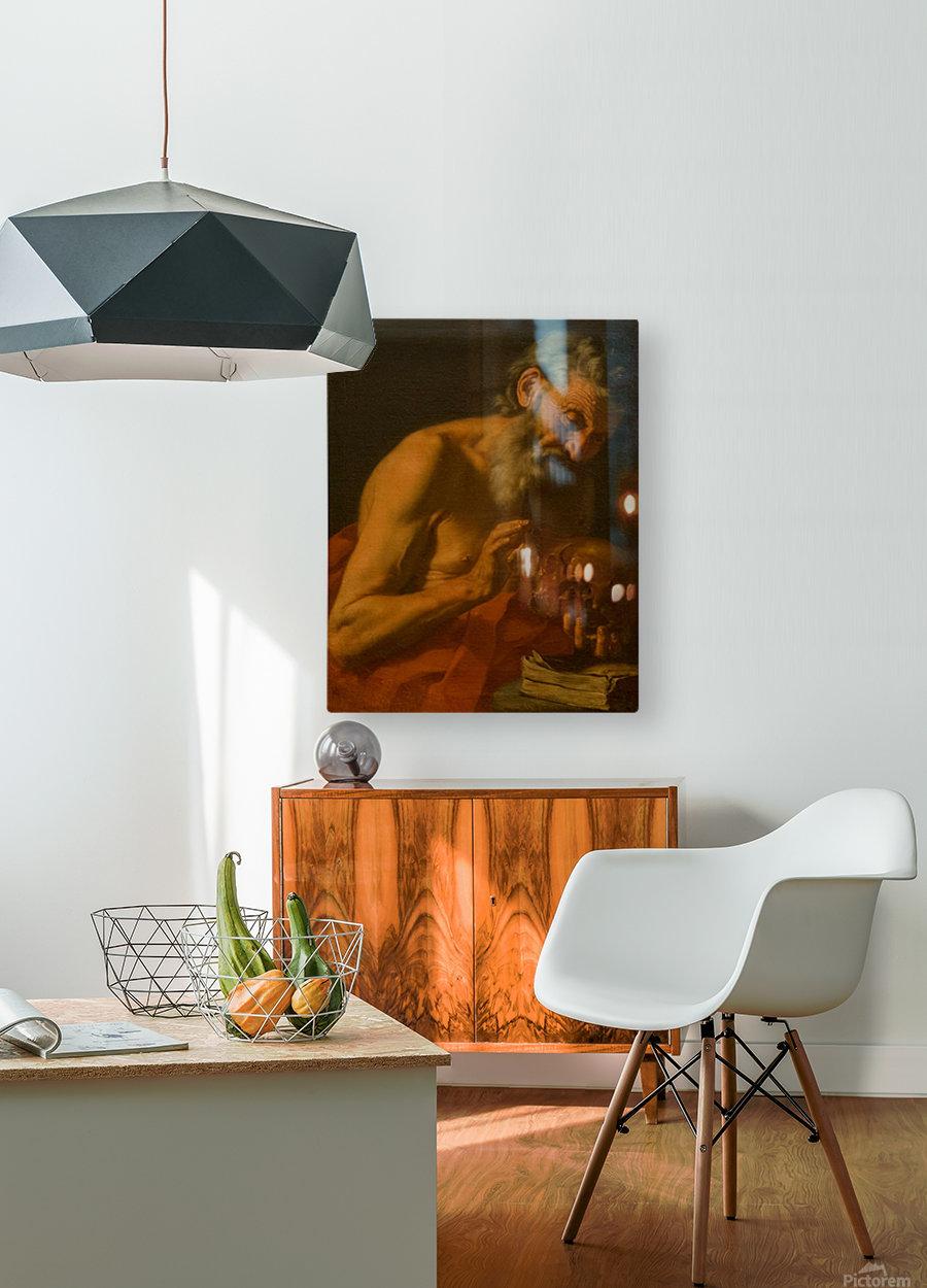 San Girolamo  Impression métal HD avec cadre flottant sur le dos