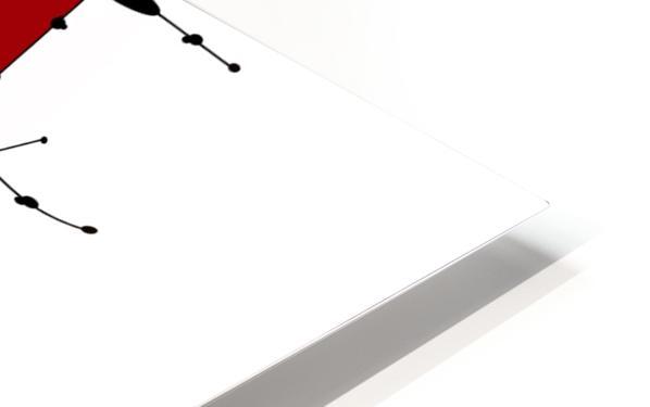 Sanomessia - melting cubes HD Sublimation Metal print