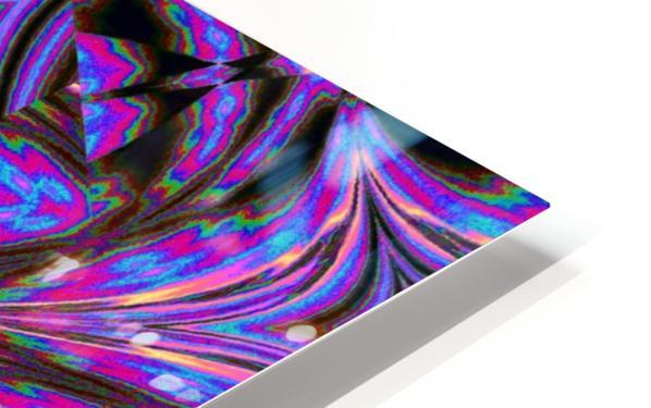 Psychedelic Jasmine 1 HD Sublimation Metal print