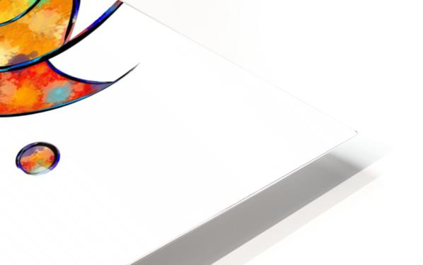 Espanessua - imaginery spiral flower HD Sublimation Metal print