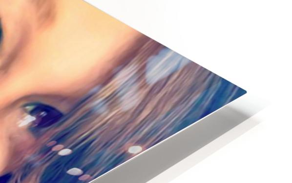 EM- Female pic art model HD Sublimation Metal print