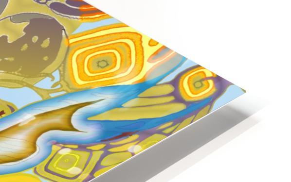 Spirit Fox HD Sublimation Metal print