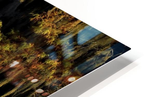Egret HD Sublimation Metal print