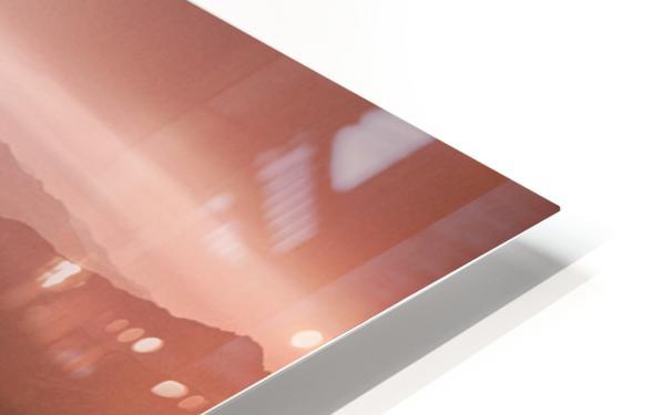 Winding light HD Sublimation Metal print