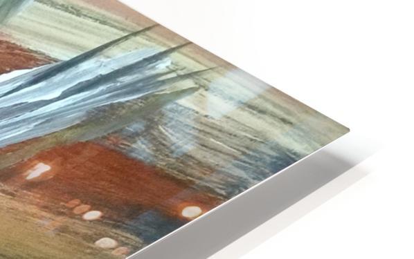 abstact canvas acrylic  Impression de sublimation métal HD