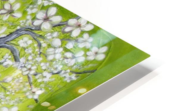 Cherry blossom dance HD Sublimation Metal print