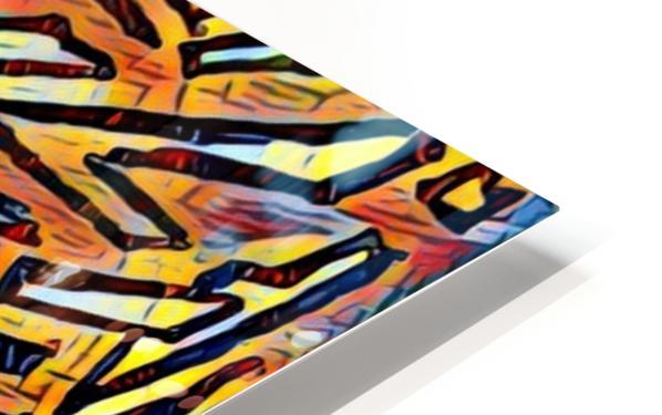 zigurat HD Sublimation Metal print
