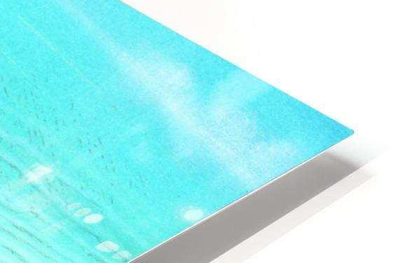 bath HD Sublimation Metal print