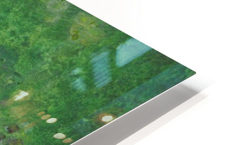 Rowboat drifting. HD Sublimation Metal print
