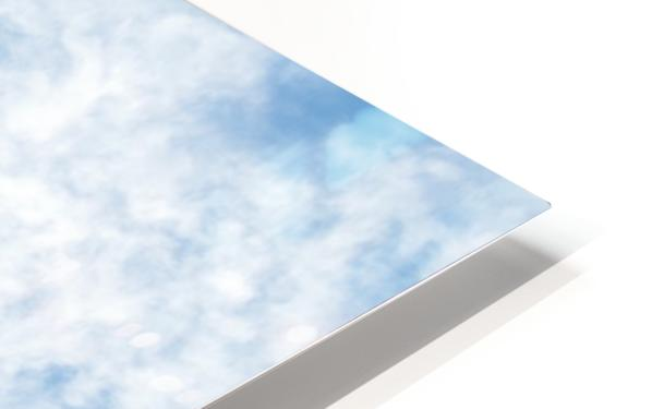 Wispy White Cloud. HD Sublimation Metal print