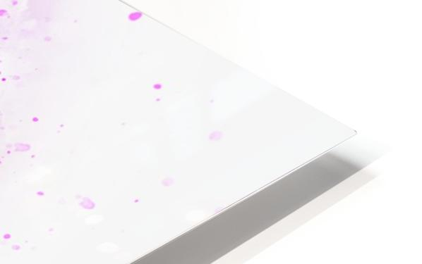 flower HD Sublimation Metal print