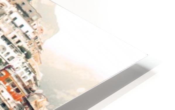 Panoramic Positano - Amalfi Coast - Italy HD Sublimation Metal print
