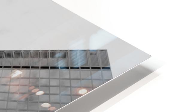 London Skyscraper III - Black and White HD Sublimation Metal print