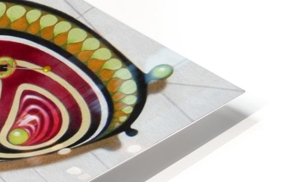 butterfly from the twenties HD Sublimation Metal print