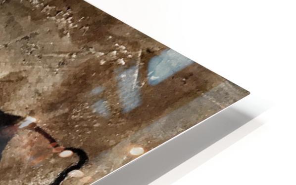 Gridiron Nebraska Football Cornhusker Artwork HD Sublimation Metal print
