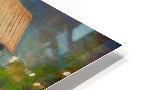Valentine House Oil HD Sublimation Metal print