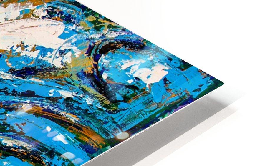 Flow Of Dreams-2 - 18 inch x 18  HD Sublimation Metal print