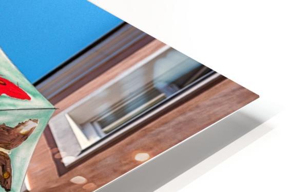 La ruelle des parapluies HD Sublimation Metal print