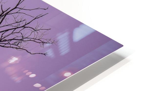 Mirabel mauve HD Sublimation Metal print