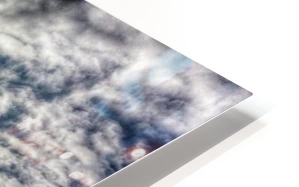 Sky City HD Sublimation Metal print