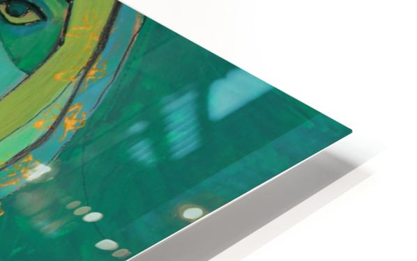 green HD Sublimation Metal print